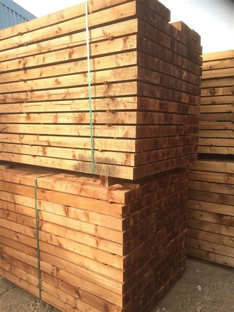 l posts for sale uk pressure treated timber wood wooden gate fence post ebay