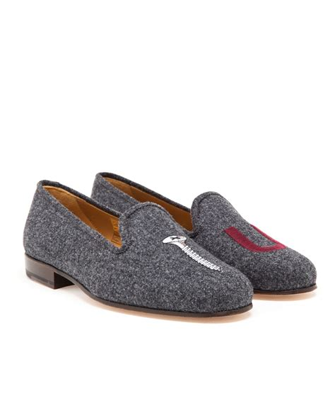 you loafers stubbs wootton wool you loafers in gray for