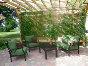 Pergolas With Canopy by Western Red Cedar Pergola With Privacy Lattice Minnesota