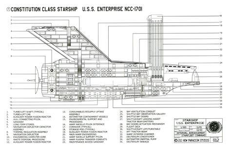 star trek uss enterprise d schematics image gallery ncc 1701 blueprints