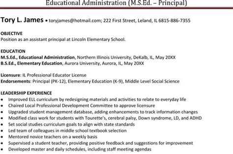 Principal Resume Template by Resume Template Free Premium Templates Forms