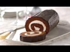 chocolate cake roll recipe youtube