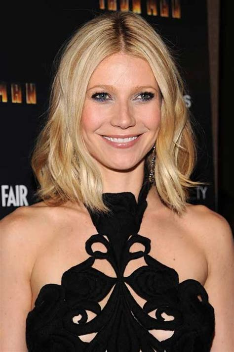 long bob hairstyles gwyneth paltrow 20 new celebrities with bob haircuts bob hairstyles 2017