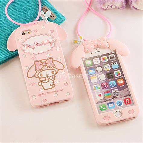 Jelly Rabbit Deer Flower Iphone 5 6 6 Plus7 7 Plus 3d pink my melody rabbit silicone soft cover for