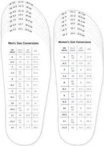 shoe size template printable uk best 25 shoe size chart ideas on
