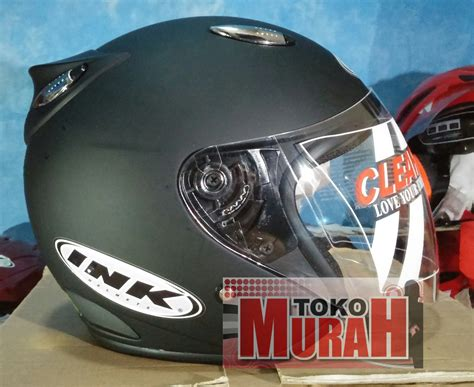 Helm Basic Ink Centro White Glossy Bkn Kyt Bogo Agv Retro Cross harga helm kyt retro elsico solid id priceaz