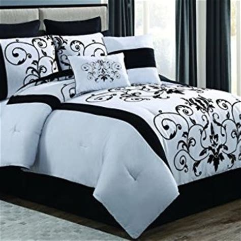 black and white king comforter sets shop black and white king comforter sets on wanelo