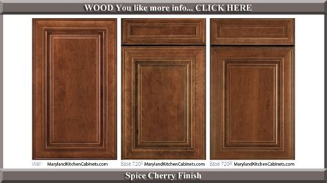 Kitchens With Dark Brown Cabinets by 720 Cherry Cabinet Door Styles And Finishes Maryland