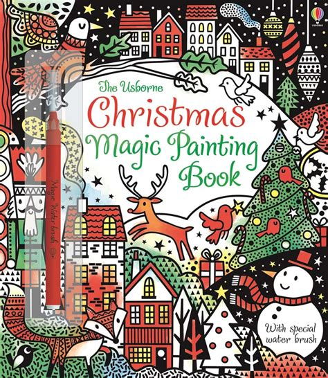 christmas magic painting book christmas magic painting book at usborne children s books