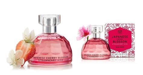 New Parfum The Bodyshop Reject Japanese Cherry Blossom 50ml Edt the shop japanese cherry blossom stawberry new fragrances