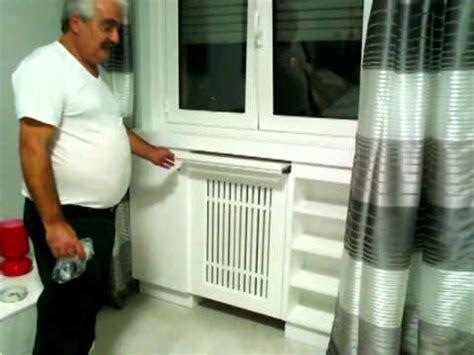 mobile copritermosifone montaggio mobile anche copricalorifero in casa gallo