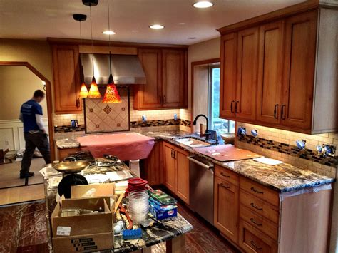 remodel house january work in progress lochwood lozier custom homes