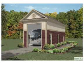 Motorhome Garage Plans Rv Garage Plans Detached Rv Garage Plan Single Bay