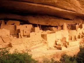 Mesa Verde Anasazi Ruins Mesa Verde National Park Colorado Nature