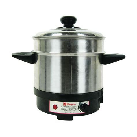 Maspion Cooker jual beli maspion mec 2750 multi cooker alat masak