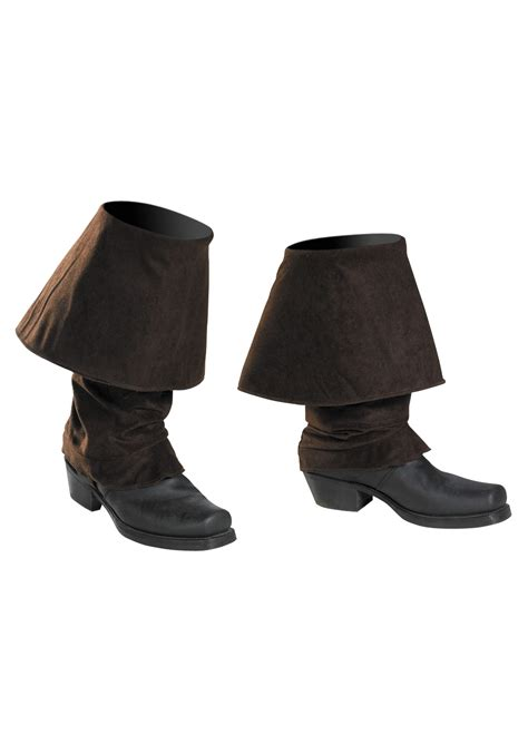 costume boot covers captain sparrow pirate boot covers of