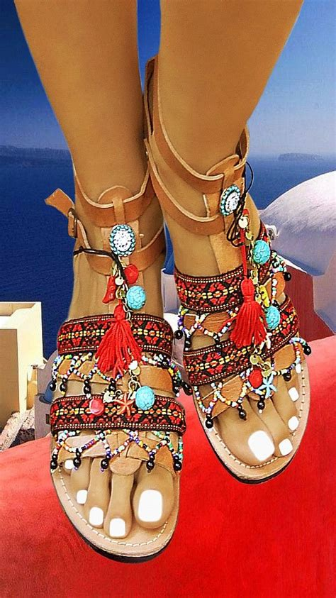 Ethnic Wedges Handmade Mimosabi 19 best images about sandals on beaded sandals boho and gov t mule