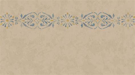 cenefas para decorar stencil cenefa y franjas para decorar paredes y muebles de