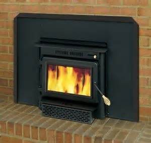 wood burning fireplace insert ebay