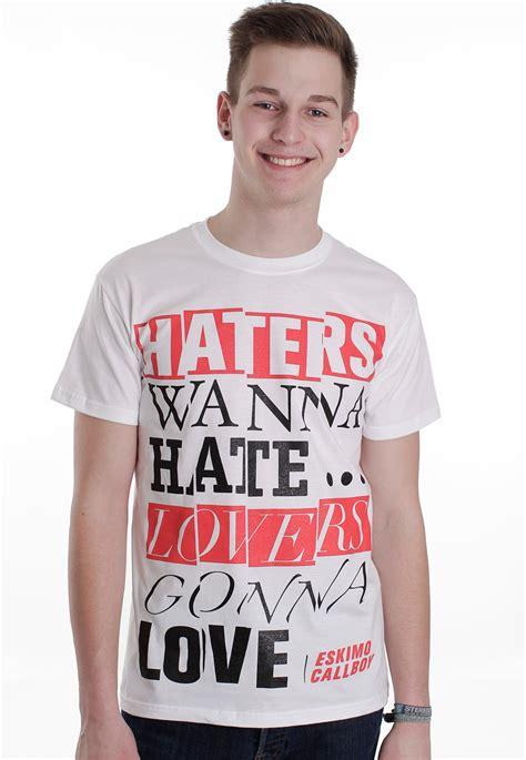 Haters White Shirt eskimo callboy haters white t shirt