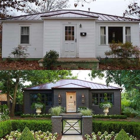 House Exterior Design Before And After by 10 Inspiring Before And After Exterior Makeoversbecki Owens