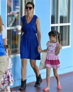 celebrity x mini cruise perfecting her look katie holmes s mini me daughter suri