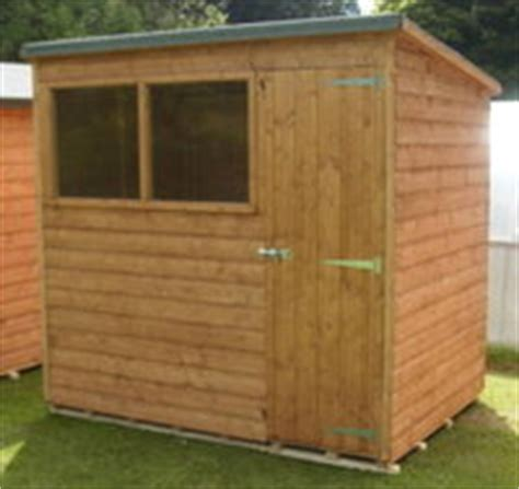 6x6 Shed by 6x6 Pent Garden Shed Garden Pleasure