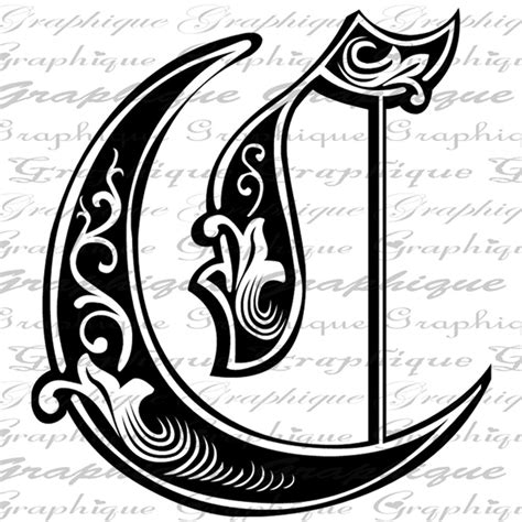 21 Best Images About Letters 07 On Pinterest Crown Tattoos Initials And Initial D Engraving Templates Letters