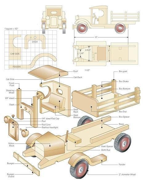 Galerry printable wooden toy plans