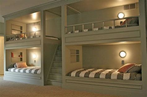 bunk beds for 4 top 4 small space bedrooms bunk bed mania