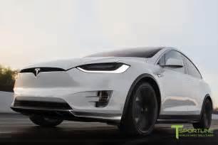 Tesla Front Tesla Model X Carbon Fiber Front Apron For Front Bumper By
