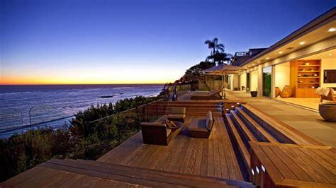 Ranch Style House Plans With Walkout Basement Malibu Beach California Malibu Beach Homes In California