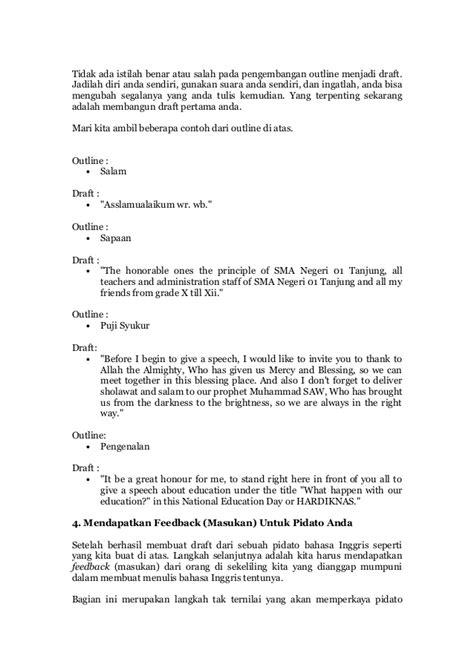 membuat outline bahasa inggris cara membuat pidato bahasa inggris