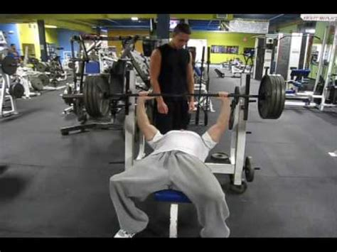 405 bench press jesse levine 405 max bench press drug free youtube