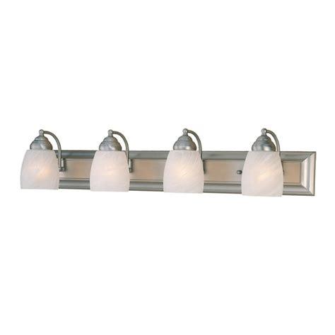 Shop Millennium Lighting 4 Light Satin Nickel Standard Satin Nickel Bathroom Lights