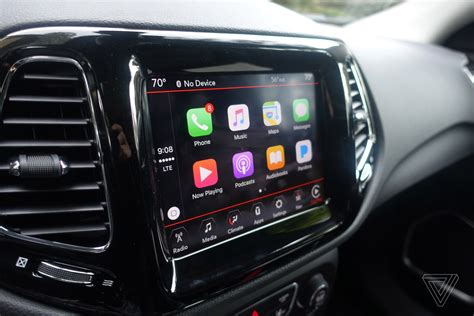 carplay android screendrive from a dumb jeep to one with the uconnect system the verge