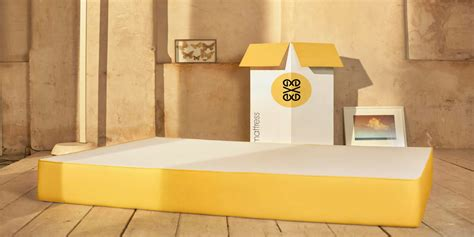 Futon In A Box by Mattress With Typographic Designs Homeli
