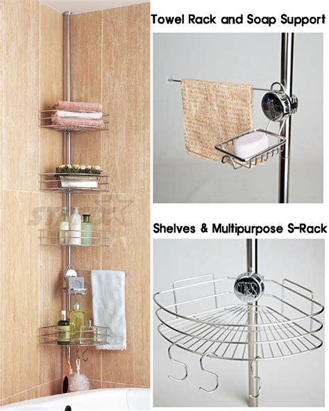 Diy Shower Shelf by Stafix Bathroom Shelf 4tier Home Corner Shelves Shower