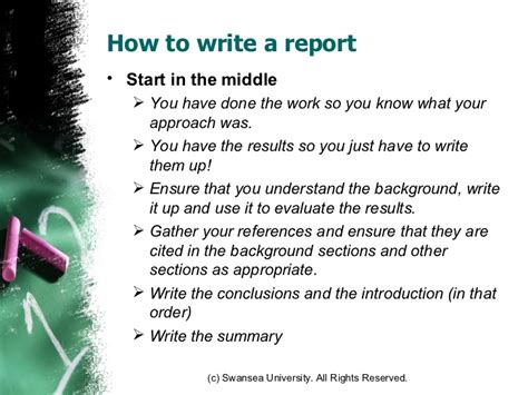 how to write the theory section of a research paper how to write a technical report