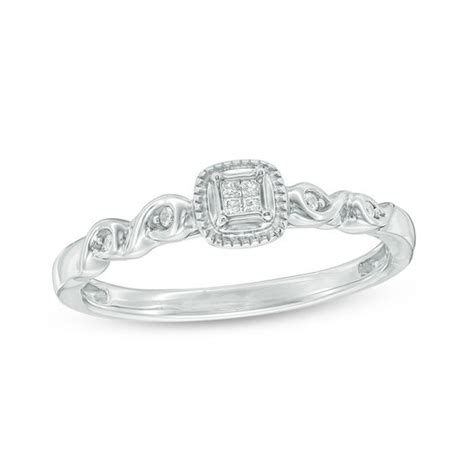 cherished promise collection princess cut