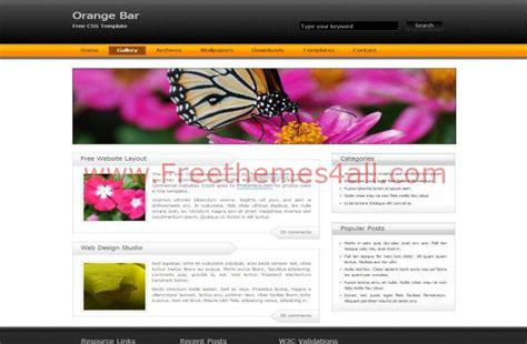 css templates for business websites free download business black orange css template download