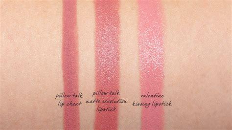 Lipstik They Talk About tilbury pillow talk matte revolution and