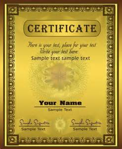 gorgeous diploma certificate template 03 vector free