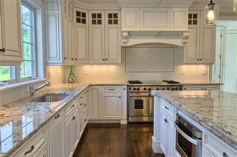 kitchen backsplash with granite countertops alaska white granite countertops design cost pros and cons