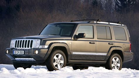 Jeep Commander Reviews Jeep Commander Station Wagon Review 2006 2009 Parkers