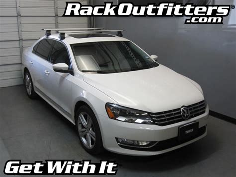 Passat Roof Rack by Rack Outfitters New Volkswagen Passat Thule Rapid Traverse Silver Aeroblade Roof Rack 12 14