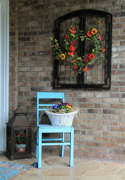 outdoor home wall decor charming rustic outdoor wall decor home decorating