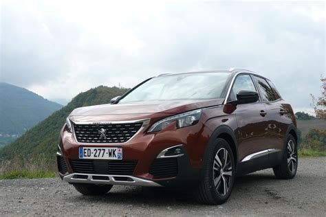 peugeot 3008 2017 black peugeot 3008 2017 road test road tests honest john