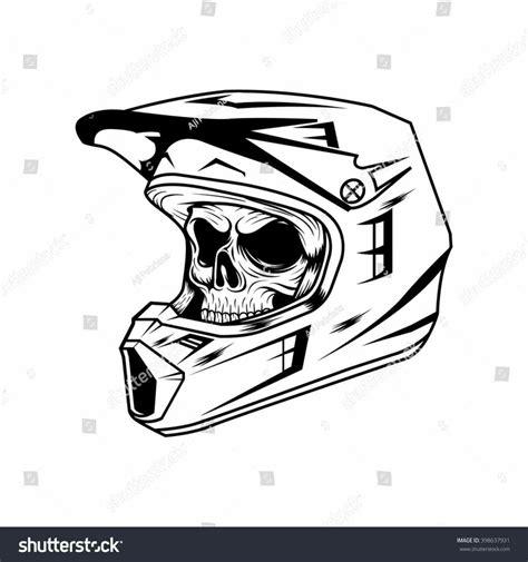 how to draw a motocross bike dirt bike helmet drawing cubangbak info