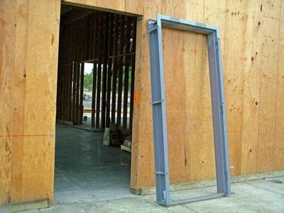 How Install A Door Frame by How To Install A Door Frame How To Build A Shed